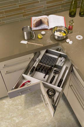 Muebles de cocina muy bien aprovechados