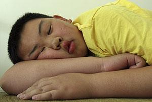Niños con obesidad o sobrepeso