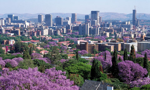 Pretoria en Sudáfrica