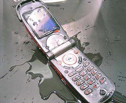 ¿Se le cayó su celular al agua?
